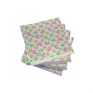 Easter Eggs Foil Square 3 Inch x 3 Inch