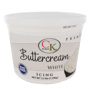PHO Free White Buttercream 3 1 / 2 Pounds