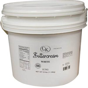PHO Free White Buttercream 25 Pounds
