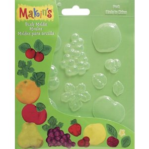 Fruits Fondant Push Mold