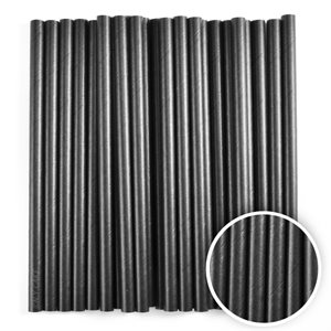 Jet Black Cake Pop Sticks- 6 Inch -Pack of 25