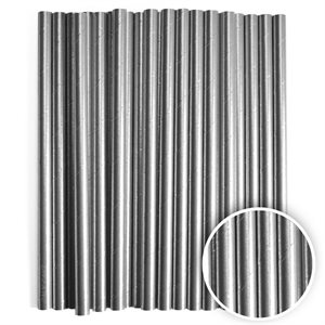 Metallic Silver Cake Pop Sticks- 6 Inch -Pack of 25