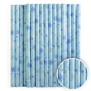 Blue Snowflakes Cake Pop Sticks Pack of 25