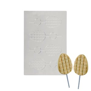 Lollipop Stamp Mold-Set of 2- 8 cavity