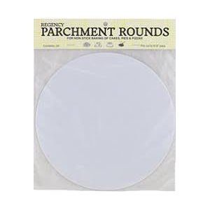 12 Inch Circle Parchment Paper Pack of 24