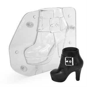 3D Lady's Boot Polycarbonate Chocolate Mold