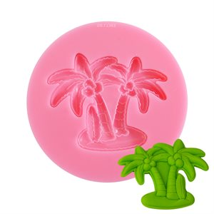 Coconut Tree Silicone Mold