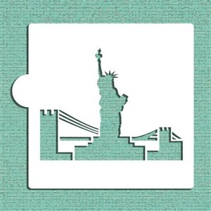 Statue of Liberty Cookie Stencil By Designer Stencils