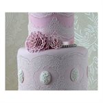 Tiffany 3D Topper Cake Lace Mat By Claire Bowman