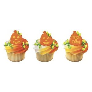 Pumpkin Cupcake Rings