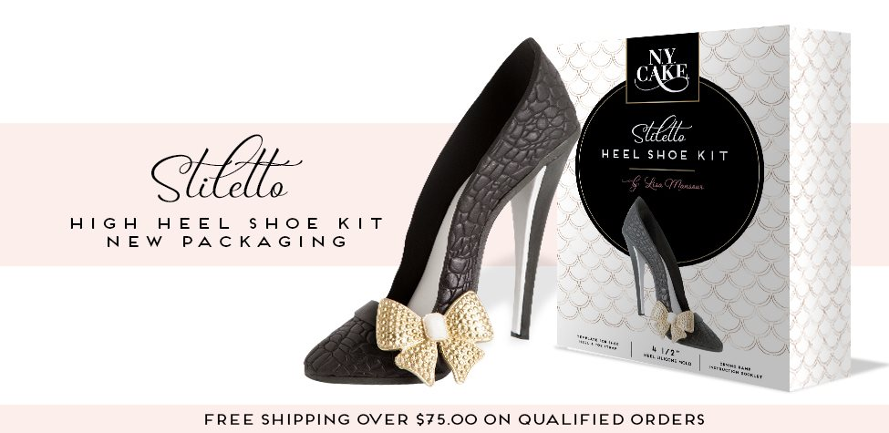 design your own edible high heel shoe kit