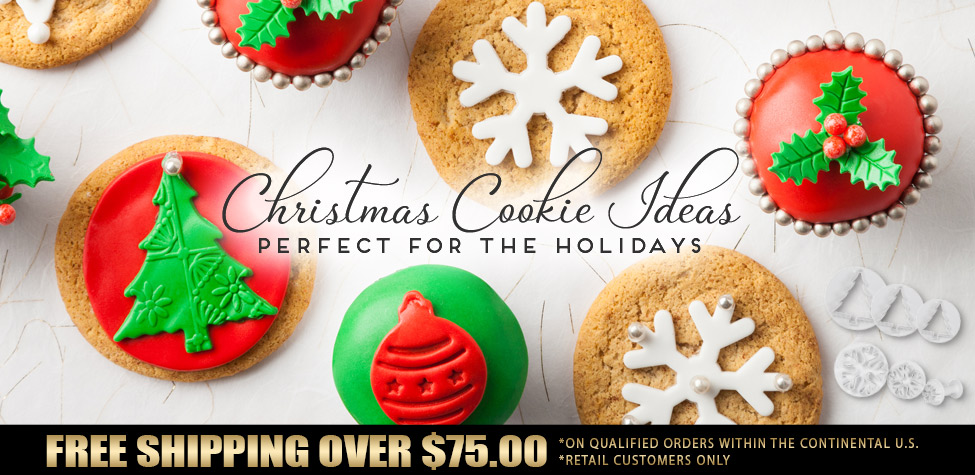 Christmas Cookie Ideas from NYCAKE