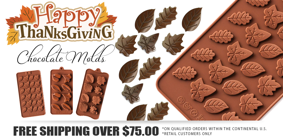 thanksgiving chocolate molds