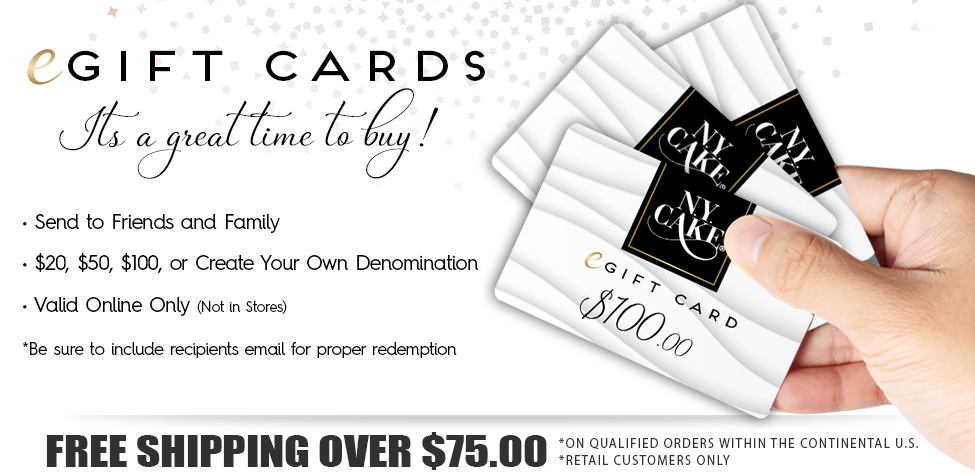 nycake gift cards are great for any occasion and the holidays